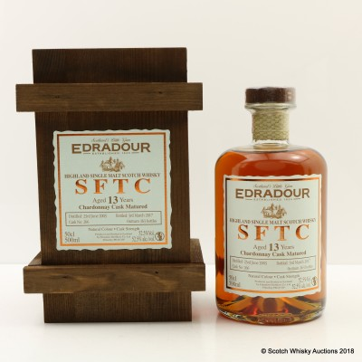 Edradour 2003 13 Year Old SFTC 50cl
