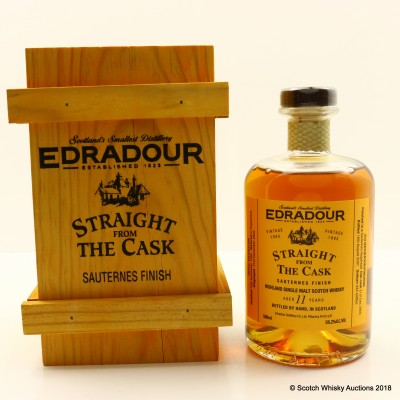 Edradour 1995 11 Year Old Straight From The Cask Sauternes Finish 50cl