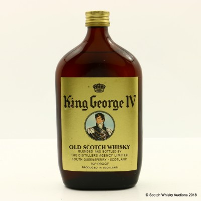 King George IV Half Bottle