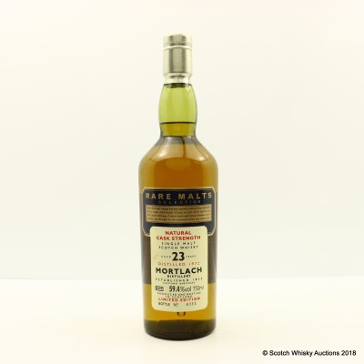Rare Malts Mortlach 1972 23 Year Old 75cl