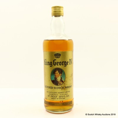 King George IV 26 2/3 Fl Oz