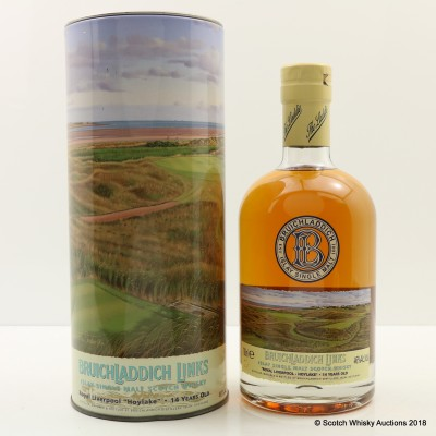 Bruichladdich Links Royal Liverpool Hoylake 14 Year Old