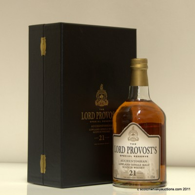 Auchentoshan 21 The Lord Provost's Special Reserve