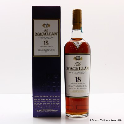 Macallan 18 Year Old 1993 75cl