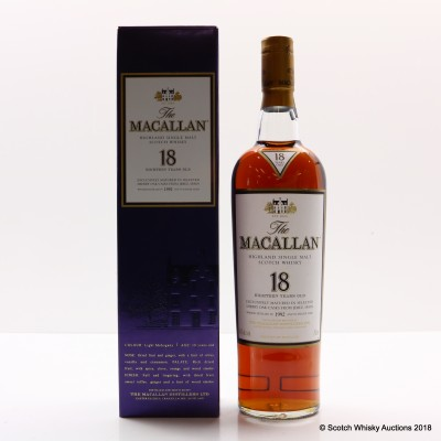 Macallan 18 Year Old 1992 75cl