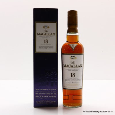 Macallan 18 Year Old 1991 37.5cl