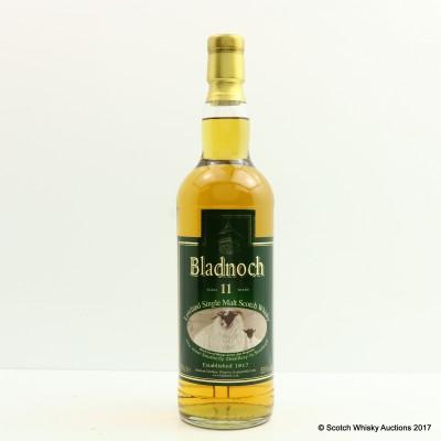 Bladnoch 11 Year Old Black Faced Sheep Label