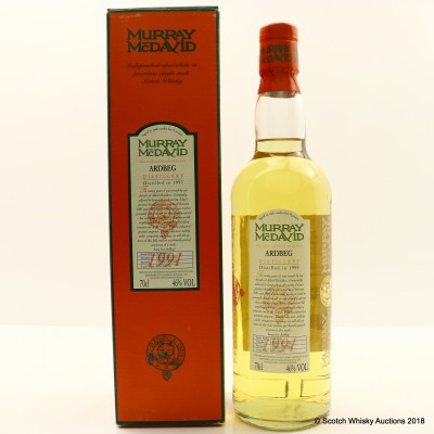 Ardbeg 1991 9 Year Old Murray McDavid