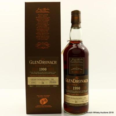 GlenDronach 1990 24 Year Old Single Cask #1020