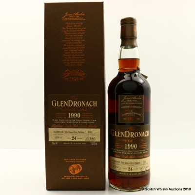 GlenDronach 1990 24 Year Old Single Cask #1162
