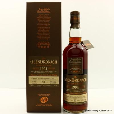 GlenDronach 1994 20 Year Old Single Cask #3201