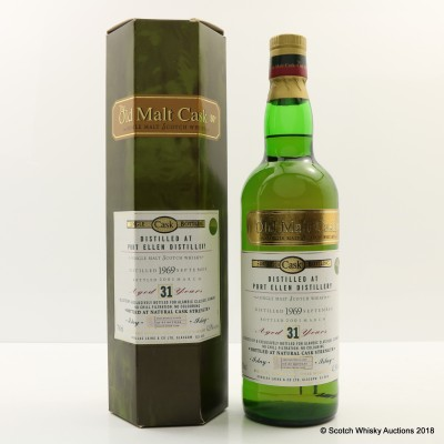 Port Ellen 1969 31 Year Old Old Malt Cask For Alambic Classique
