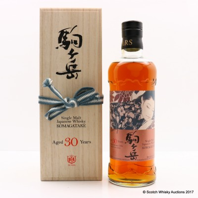 Mars Komagatake 1986 30 Year Old Sherry Cask