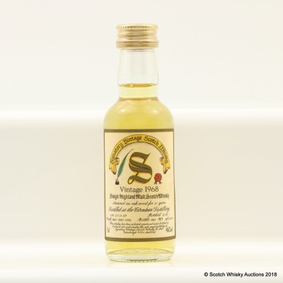 Edradour 1968 21 Year Old Signatory Mini 5cl