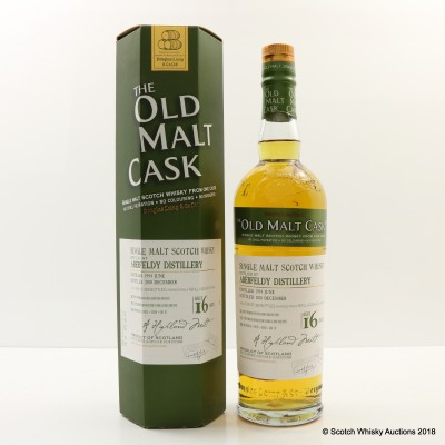 Aberfeldy 1994 16 Year Old Old Malt Cask