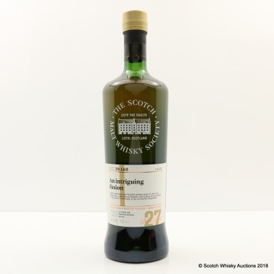 SMWS 39.140 Linkwood 1989 27 Year Old