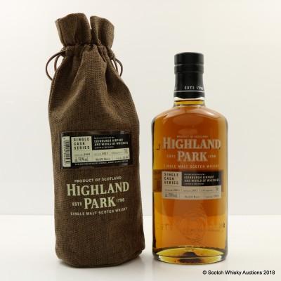 Highland Park 2003 14 Year Old Single Cask #2118 Edinburgh Airport Exclusive
