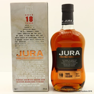 Jura 18 Year Old Travel Retail Exclusive