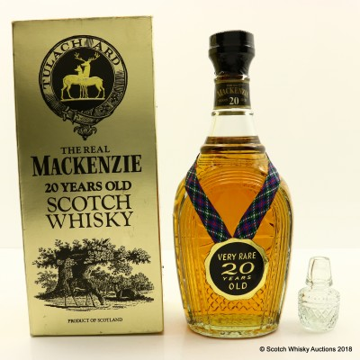 The Real Mackenzie 20 Year Old Decanter 75cl