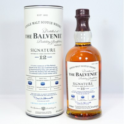 Balvenie Signature 12 Year Old Batch #5