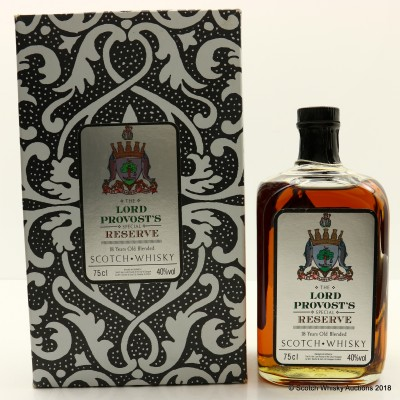 The Lord Provost's Special Reserve 18 Year Old 75cl