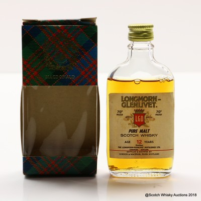 Longmorn-Glenlivet 12 Year Old Gordon & MacPhail Mini