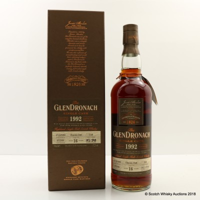GlenDronach 1992 16 Year Old Single Cask #1140