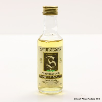 Springbank 15 Year Old Mini 5cl