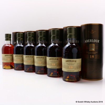 Aberlour 18 Year Old 6 x 70cl