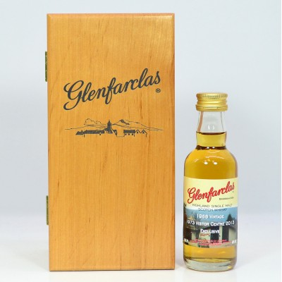 Glenfarclas 1988 Vintage Visitor Centre 1973 - 2013 Mini 5cl