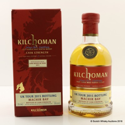 Kilchoman Machir Bay Bottled Exclusively For The Land Rover UK Tour 2015