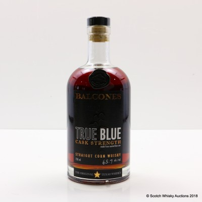 Balcones True Blue Cask Strength 75cl