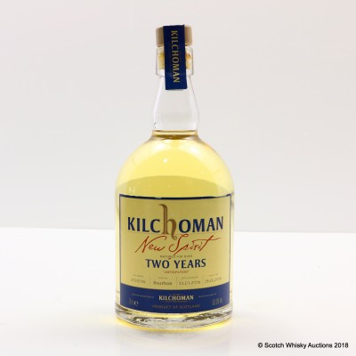 Kilchoman New Spirit 2 Year Old Anticipation