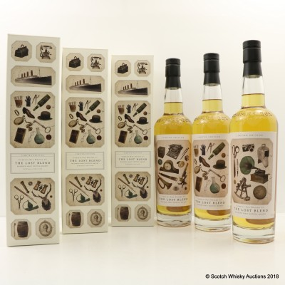 Compass Box The Lost Blend 3 x 70cl