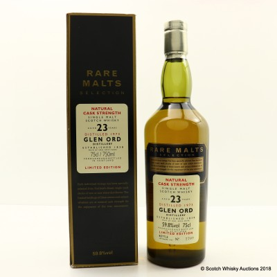 Rare Malts Glen Ord 1973 23 Year Old 75cl