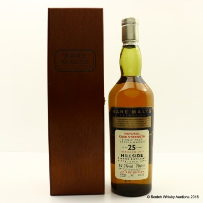 Rare Malts Hillside 1971 25 Year Old