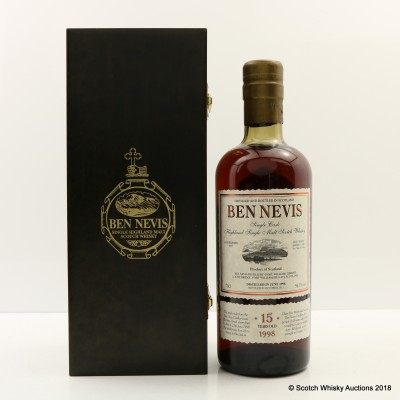 Ben Nevis 1998 15 Year Old Single Cask #586