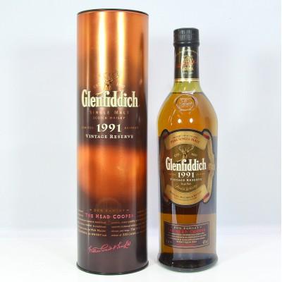 Glenfiddich Don Ramsay The Head Cooper 1991