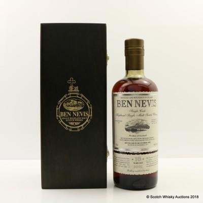Ben Nevis 2002 10 Year Old Single Cask #334