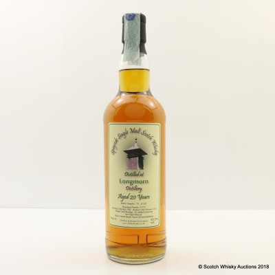 Longmorn 1992 20 Year Old Whisky Broker