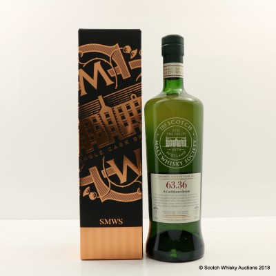SMWS 63.36 Glentauchers 1989 26 Year Old