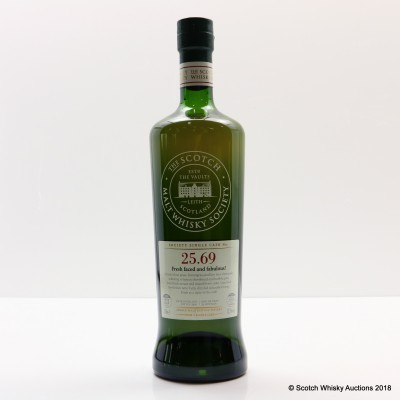 SMWS 25.69 Rosebank 1991 23 Year Old