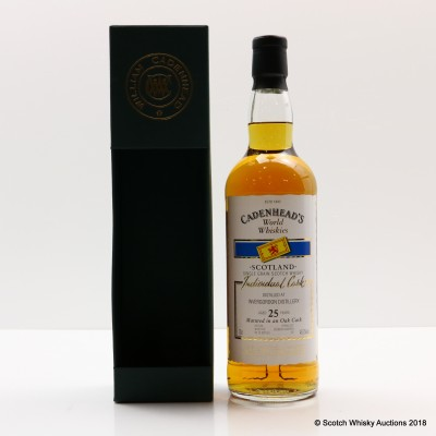 Invergordon 25 Year Old Cadenhead's