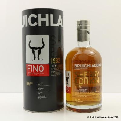 Bruichladdich 1992 Fino Sherry Edition