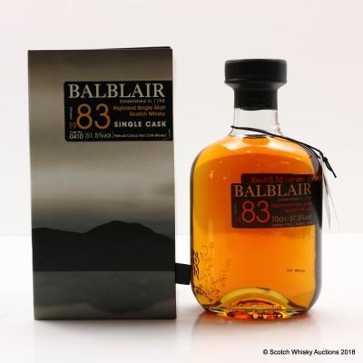 Balblair 1983 Single Cask #410