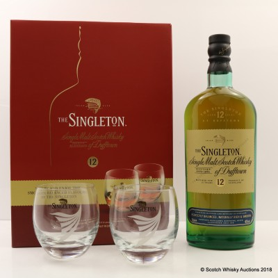 Singleton 12 Year Old With 2 Glasses