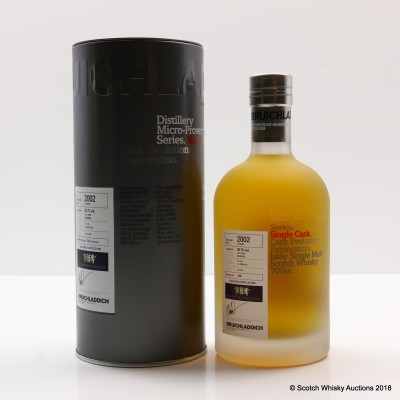 Bruichladdich Micro Provenance 2002 13 Year Old For The Whisky Exchange