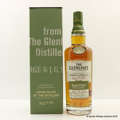 Glenlivet 18 Year Old Hand Filled