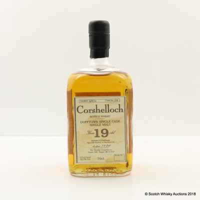 Corshelloch 1974 19 Year Old The Whisky Connoisseur