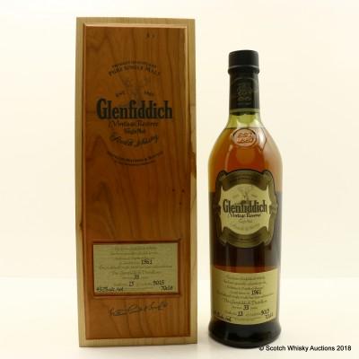 Glenfiddich 1961 35 Year Old Vintage Reserve